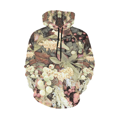 Green Mist Yuma All Over Print Hoodie (for Women)