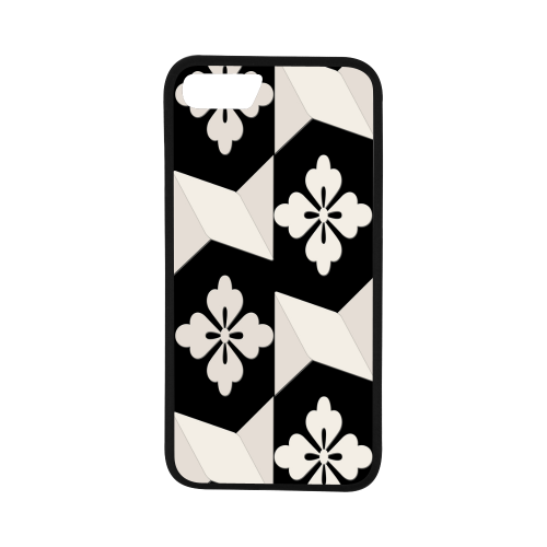 "Black White Tiles iPhone 7 (4.7"") Case"