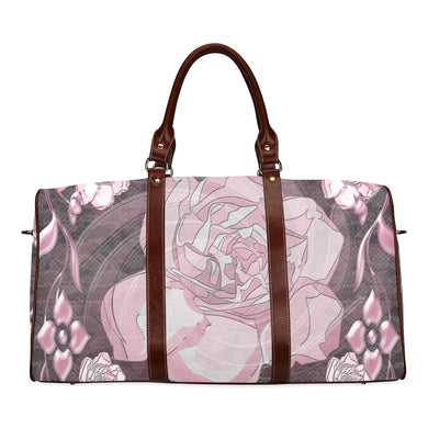Gardenia Flora Waterproof Travel Bag/Small (Model 1639)