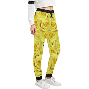 Candlelight Roses Women's All Over Print Sweatpants (Model L11)