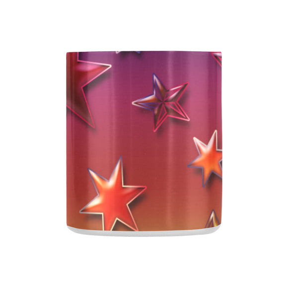 Rainbow Stars Classic Insulated Mug(10.3OZ)