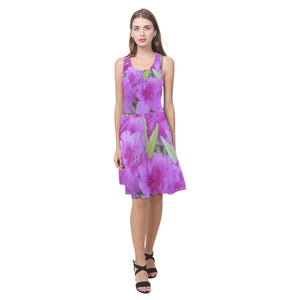 Azalea Flowers Atalanta Casual Sundress(Model D04)