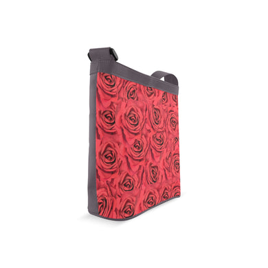 Radical Red Roses Crossbody Bags (Model 1613)