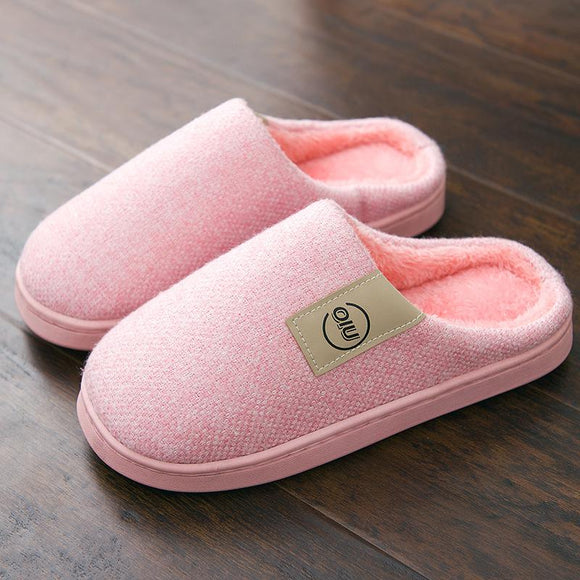Lotus Jolly Classic Warm Fur Slippers House Shoes Flat Heel Zapatilla Mujer