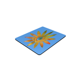 Yellowish Eye Flower Rectangle Mousepad