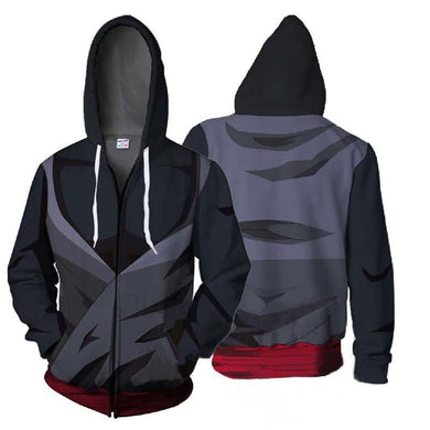 Men Ahegao Zipper Hoodies Jacket Dragon Ball Sweatshirt Plus Size Hip Hop Tracksuit