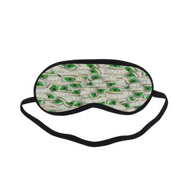 Bushy Green Eyebrows Sleeping Mask