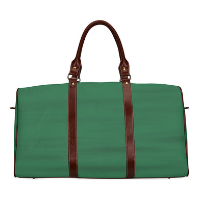 Green Water Waterproof Travel Bag/Small (Model 1639)