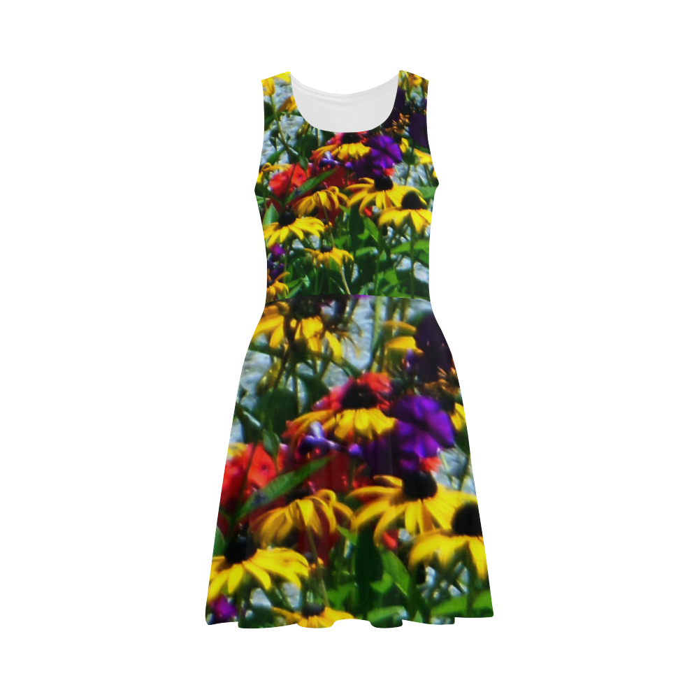 Picturesque Flowers Atalanta Sundress (Model D04)