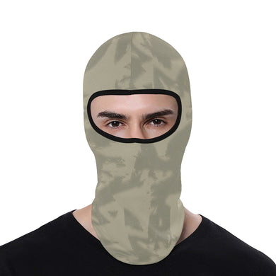 Eagle Taupe Gray All Over Print Balaclava