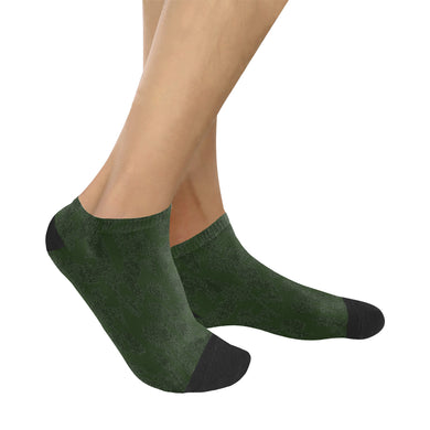 Deep Fir Shades Women's Ankle Socks