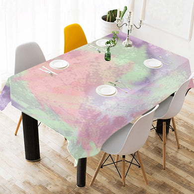 Prelude Beauty Gin Cotton Linen Tablecloth 52