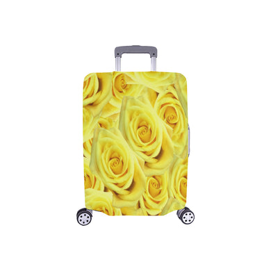 Candlelight Roses Luggage Cover/Small 24'' x 20''