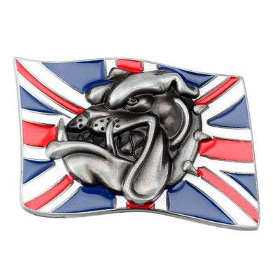 Skull Flag Belt Buckle for Men Women