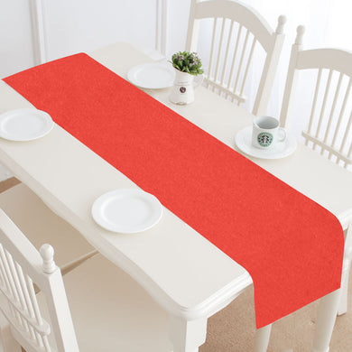 Pomegranate Solid Table Runner 14x72 inch