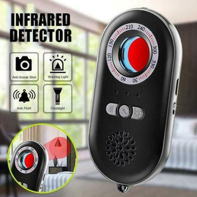 Multifunctional Detector Anti-Spy Hidden Camera Detector Infrared Alarm System Sensing Device