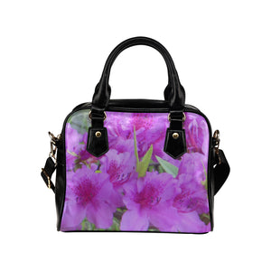Azalea Flowers Shoulder Handbag (Model 1634)