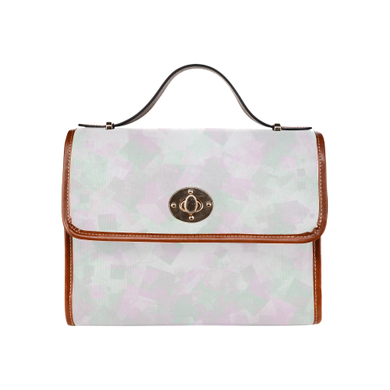 Clear Amour Snuff Mint Waterproof Canvas Bag/All Over Print (Model 1641)