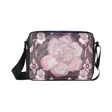 Gardenia Flora Classic Cross-body Nylon Bags (Model 1632)