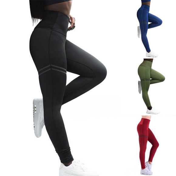 Women Tights Skinny Pants Compression Sport Push Up Leggings