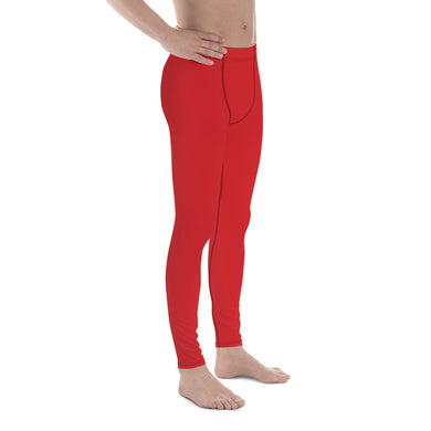 Alizarin Dissolve Men's Leggings