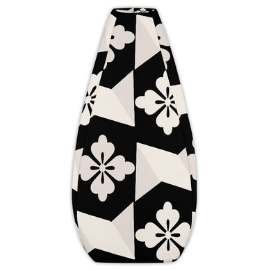 Black White Tiles Bean Bag Chair Cover with No Filling