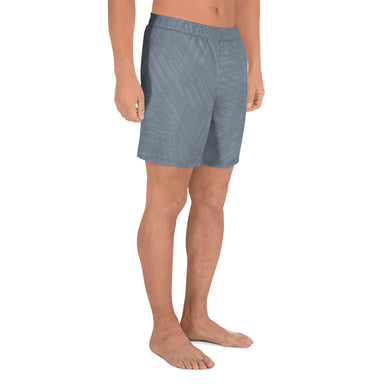 Light Slate Gray Marks Men's Athletic Long Shorts