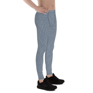 Light Slate Grey Men's Leggings