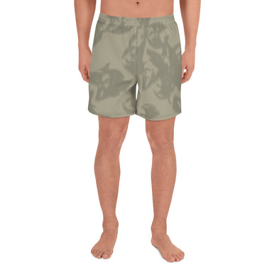 Eagle Taupe Gray Men's Athletic Long Shorts