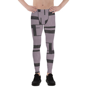 Baltic Sea Geometric Men's Leggings