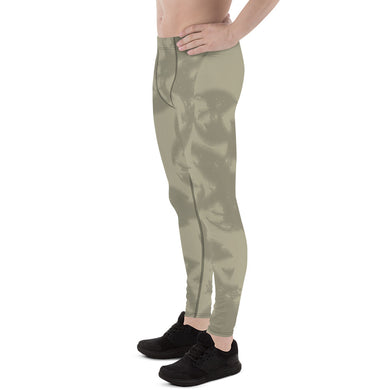 Eagle Taupe Gray Men's Leggings