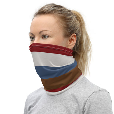 Bold Neutral Stripes Neck Gaiter