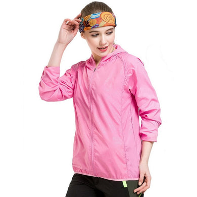 NaranjaSabor Quick Dry Women's Jackets Windbreaker Sun Protection Ultra Light Thin