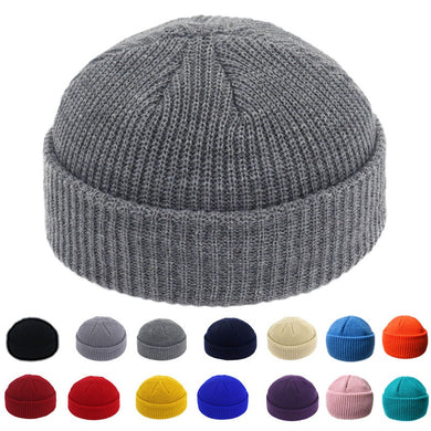 Mengs Dream Brimless Hats Hip Hop Beanie Skullcap Street Knitted Acrylic Unisex Cap