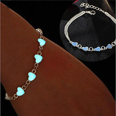 Women's Ankle Bracelet Feet Jewelry Silver Carnival Club Traveling