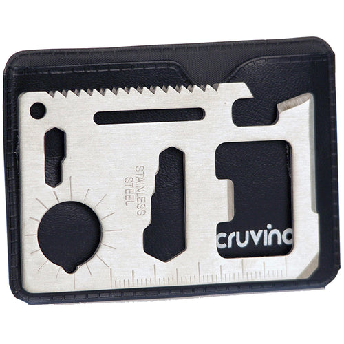 Multi Purpose Credit Card Size Wallet Tool with Opener