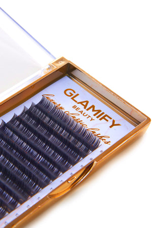 Silk Eyelash Extensions 0.15 C Curl Mixed