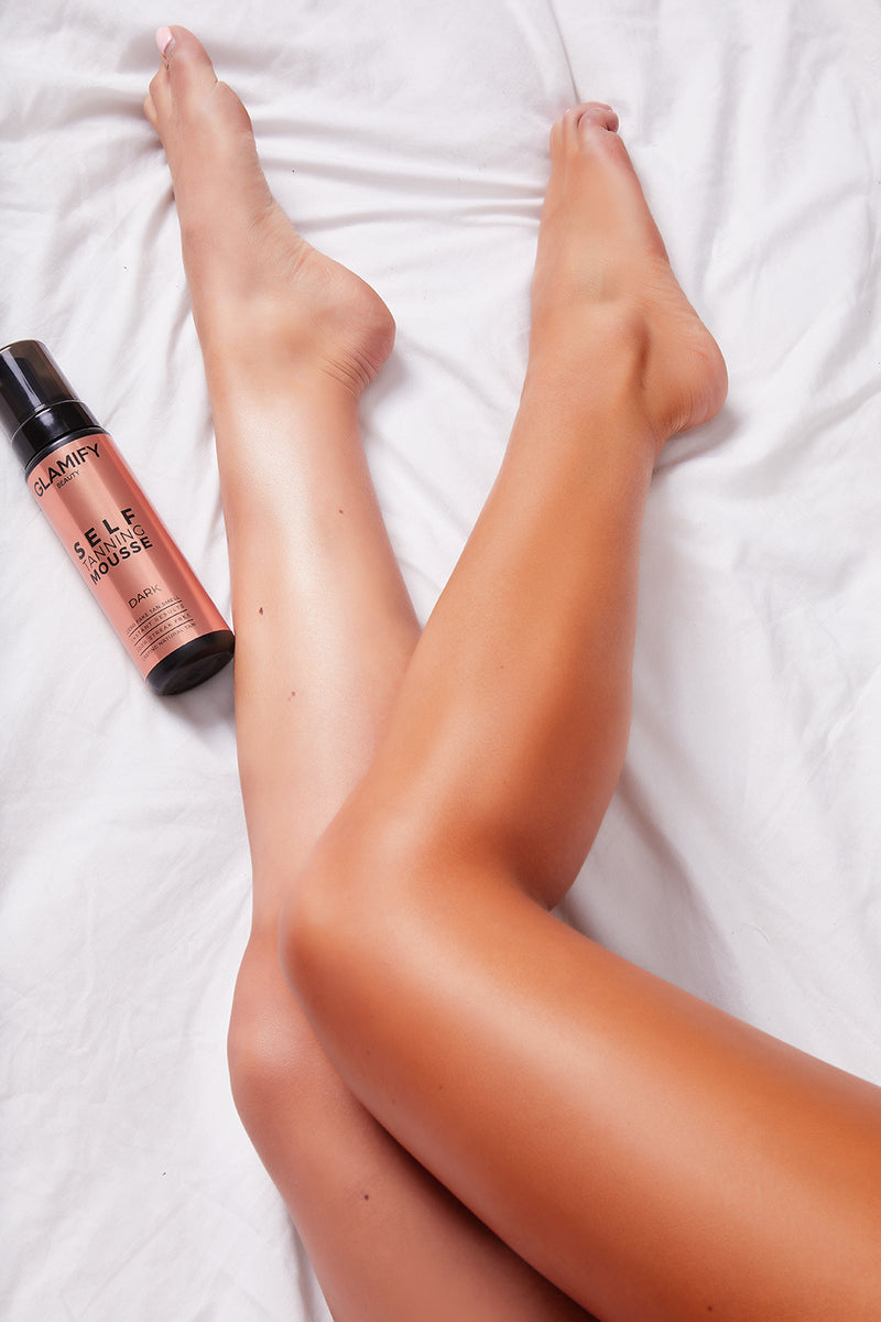 Glamify Beauty Coconut Dark Tanning Mousse