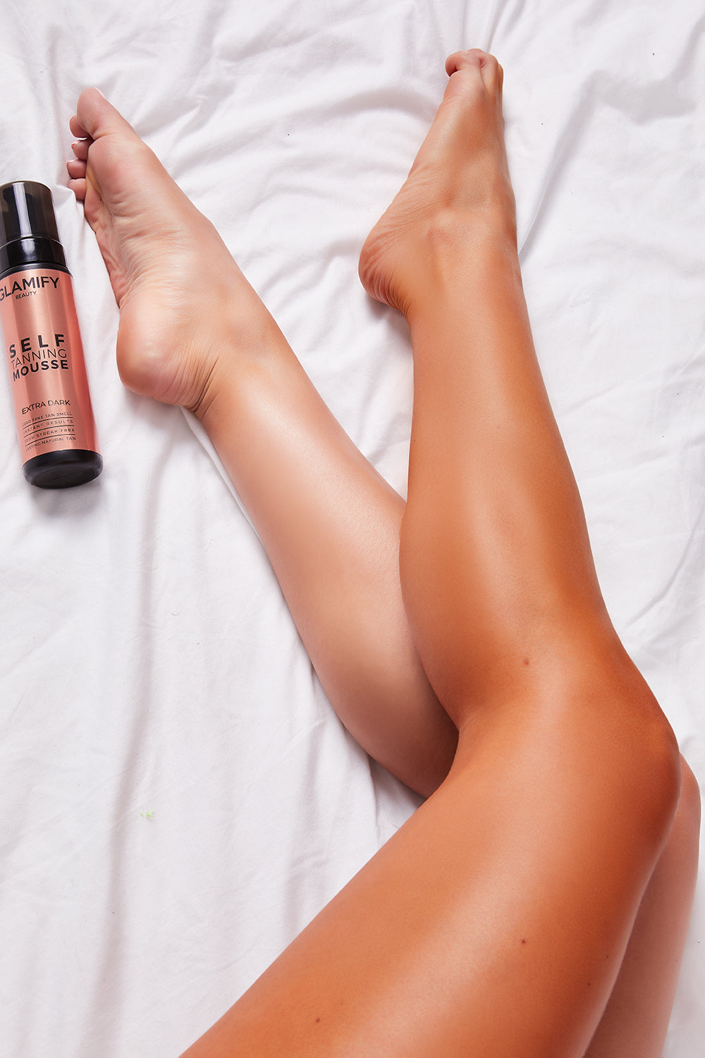 Glamify Beauty Melon Extra Dark Tanning Mousse