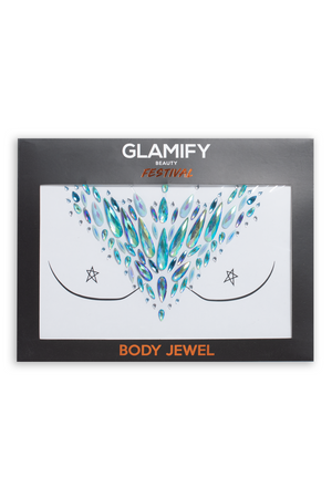 Glamify Turquoise Snow Queen All In One Body Jewels