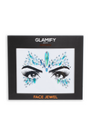 Glamify Turquoise Snow Queen All In One Face Jewels