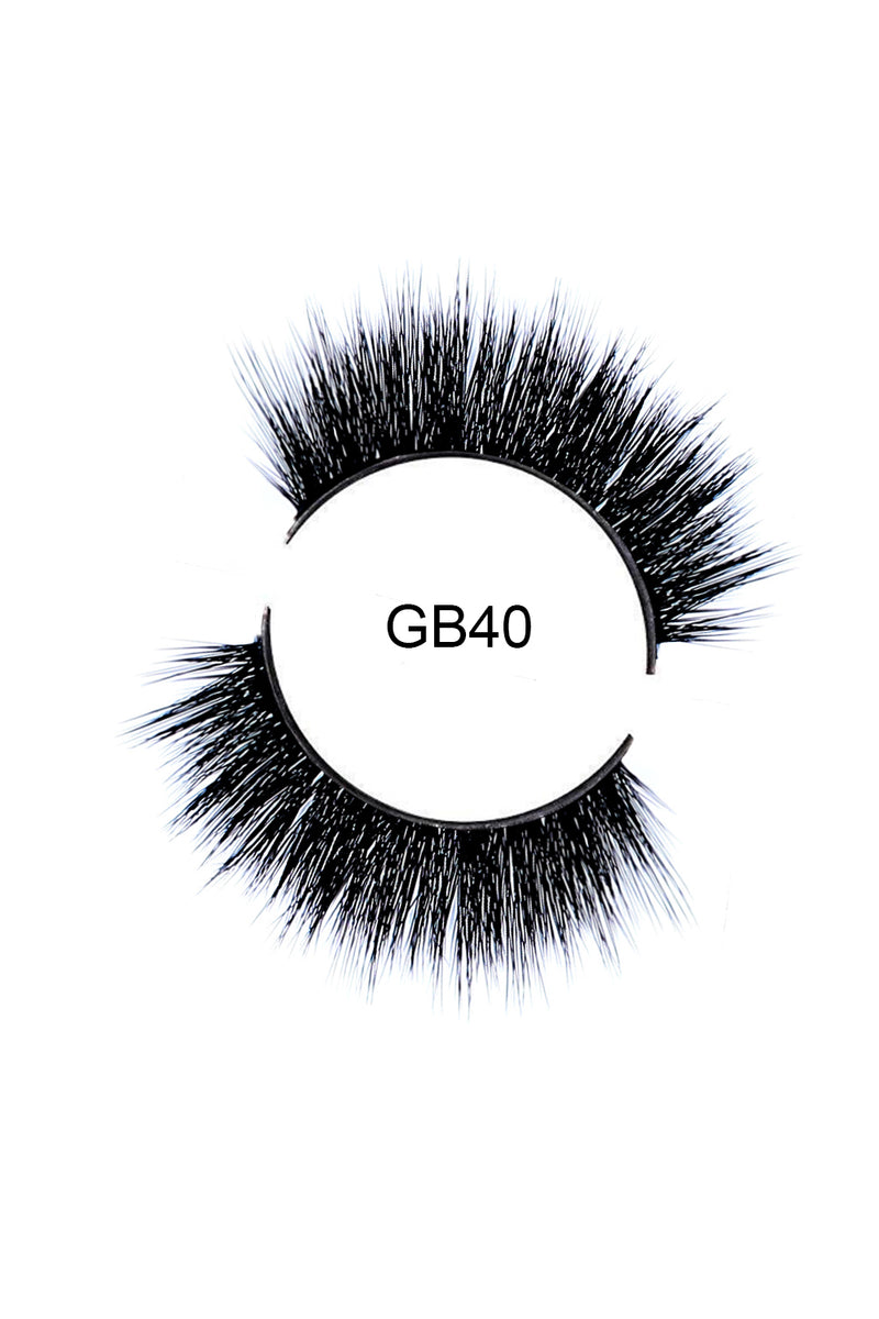 GB40 Luxury Faux Mink Eyelashes
