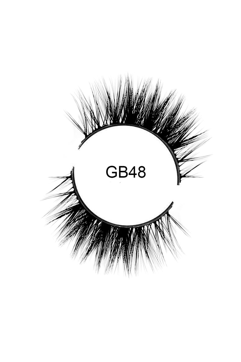 GB48 Luxury Faux Mink Eyelashes