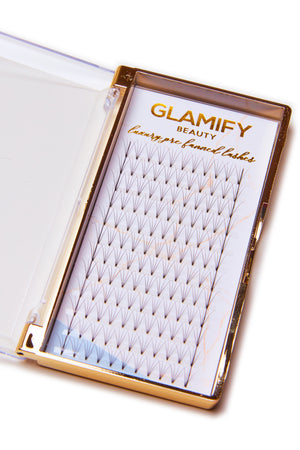 Pre Fanned Russian Volume 4D Eyelashes