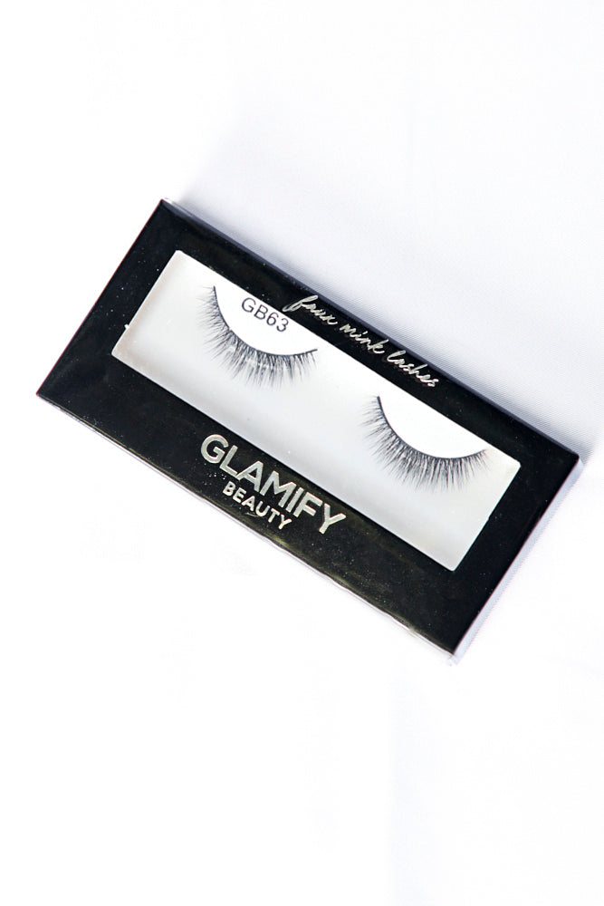GB63 Luxury 5D Faux Mink Eyelashes