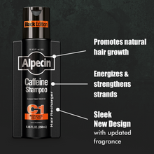 Load image into Gallery viewer, Alpecin Caffeine Shampoo C1 Black Edition
