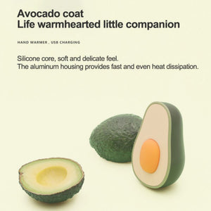 Portable Avocado Hand Warmer