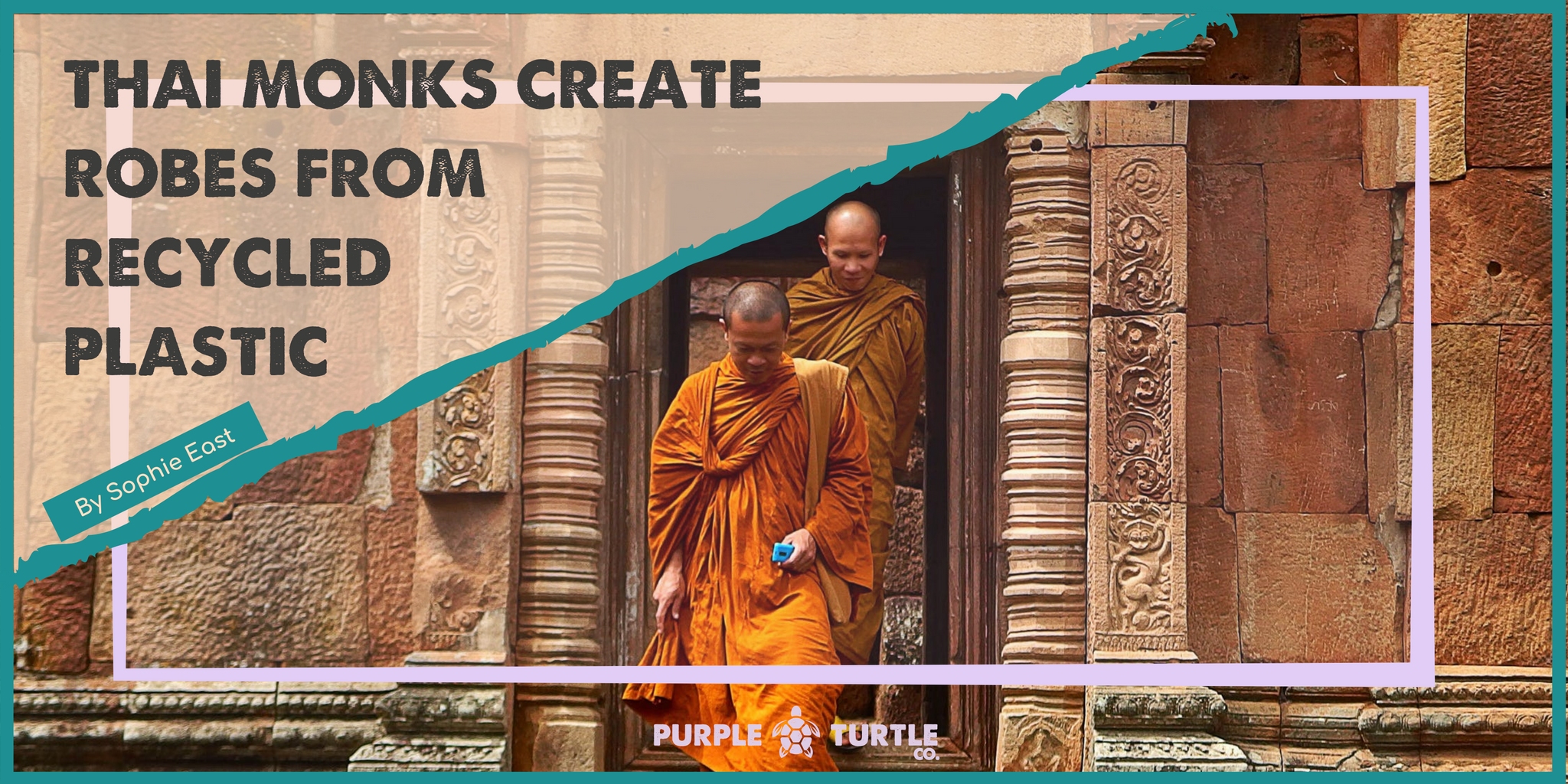 Thai monks create robes from recycled plastic