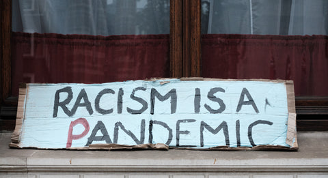 Racism is a pandemic sign.