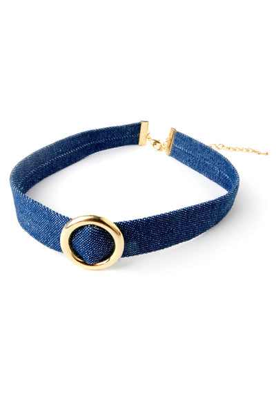 Stella Denim Chocker